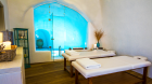 iconic santorini massage room