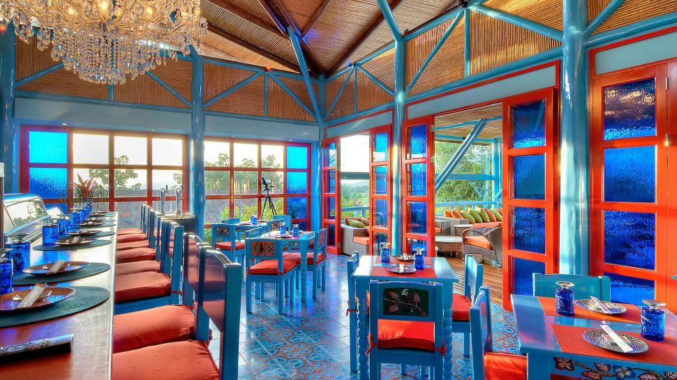 Superb View From The Restaurant At Nayara Hotel Spa