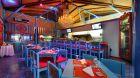 restaurant seating at Nayara Hotel Spa