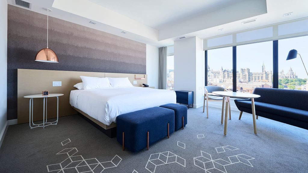 Andaz ottawa byward market ontario canada for Hotel design ottawa