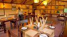 Sanctuary Gorilla Forest Camp dining area