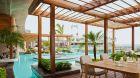 pool terrace at Thompson Playa del Carmen