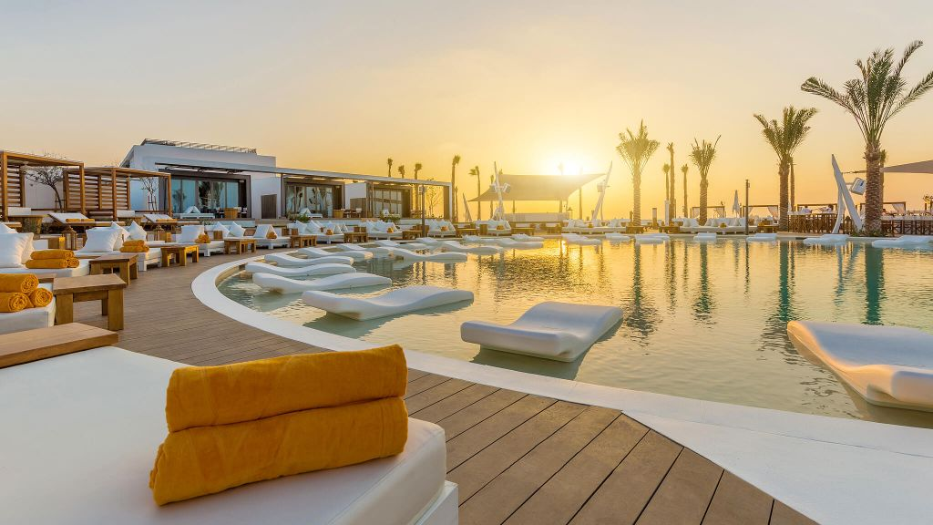 Image result for nikki beach dubai pool