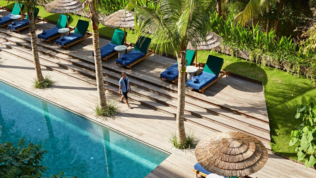 beachfront hotels indonesia Katamama Seminyak Bali