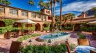 Mark  Zemnick mansion courtyard