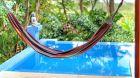 hammock and pool