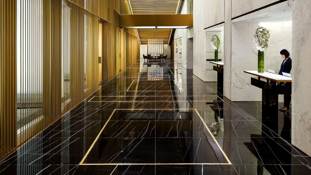 BEST NEW HOTEL  The Murray, Hong Kong, A Niccolo Hotel  Hong Kong, lobby, luxury hotel