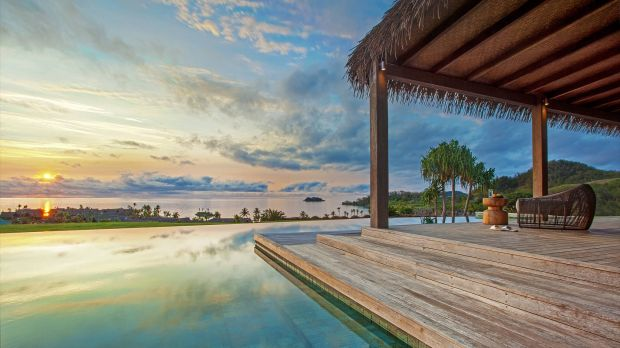 luxury eco-friendly hotels, sustainable travel, luxury hotels Fiji, Six Senses Fiji