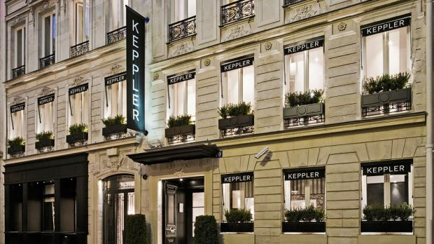 Hotel Keppler 206 Le De France Fransa