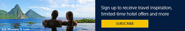 Newsletter banner. Sign up to receive the latest news and limited-time hotel offers. Click here for more information